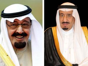 الملك سلمان - الملك عبدالله