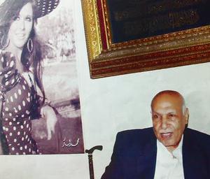 المصور محمد بكر و سعاد حسني