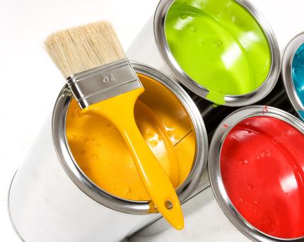 ألوان طلاء الحائط
